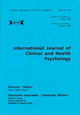 International Journal of Clinical and Health Psychology